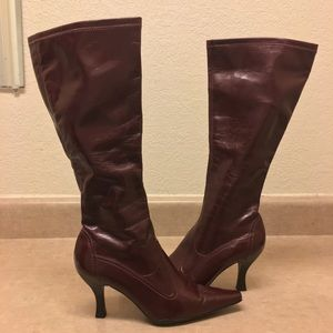 👢Franco Sarto Pointed Toe High-Shaft Boots👢